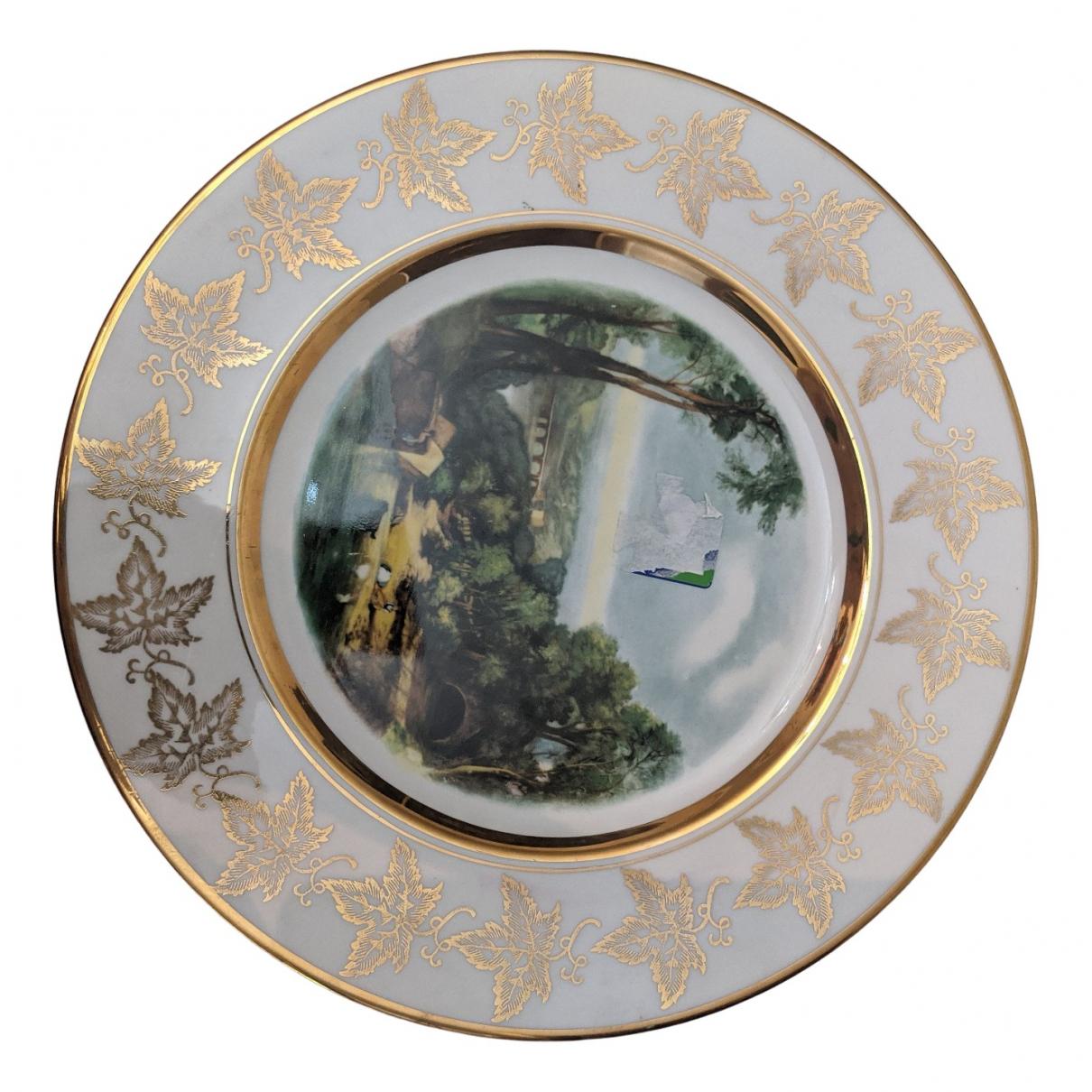 - Art   pour lifestyle en porcelaine - blanc