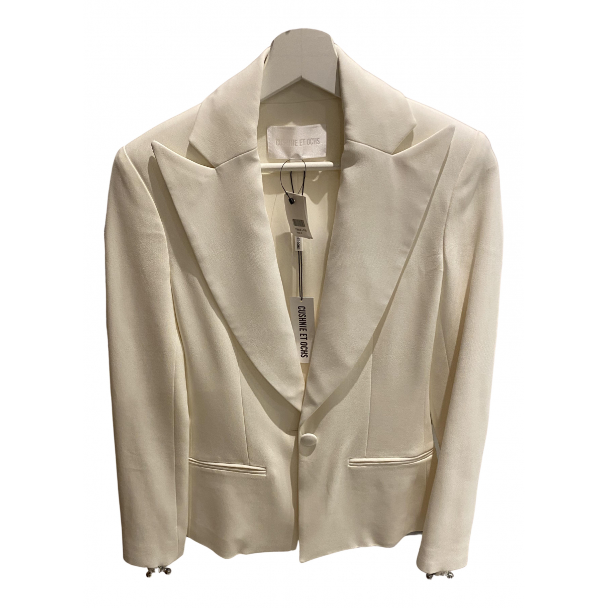 Cushnie Et Ochs N White jacket for Women 0 0-5