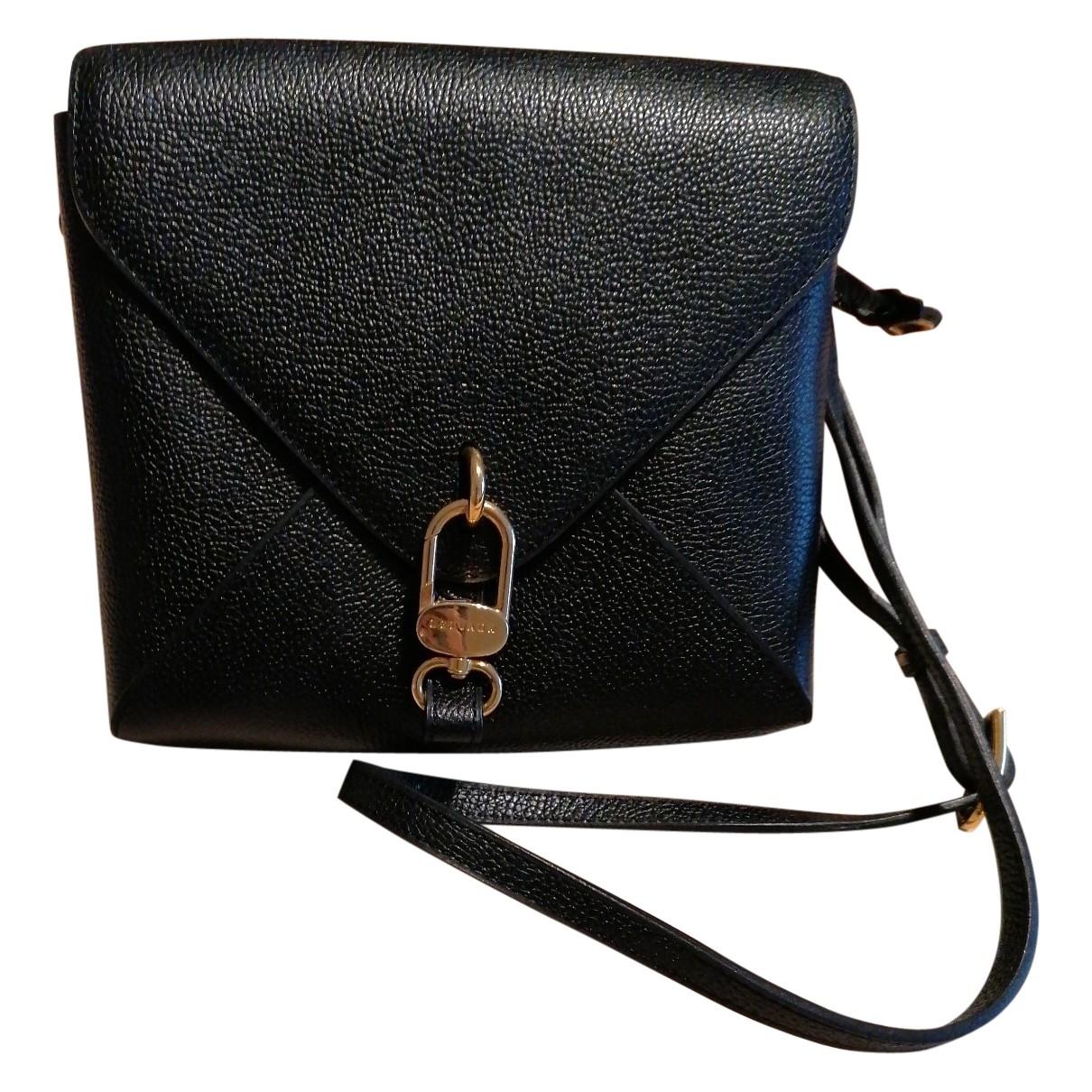 Delvaux - Sac a main Madame mini pour femme en cuir - noir