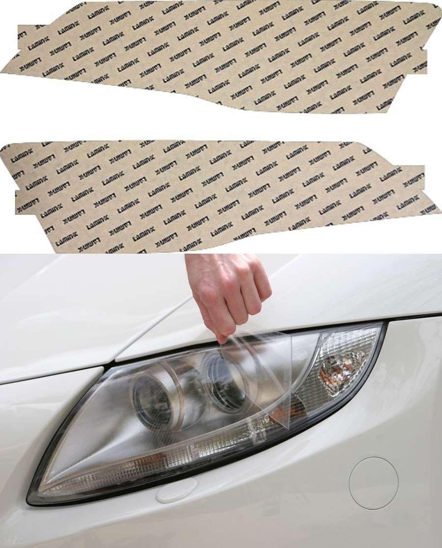Audi R8 08-15 Clear Headlight Covers Lamin-X A017CL