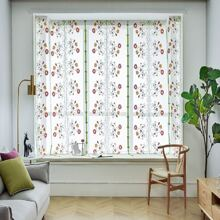 1pc Flower Embroidery Valance