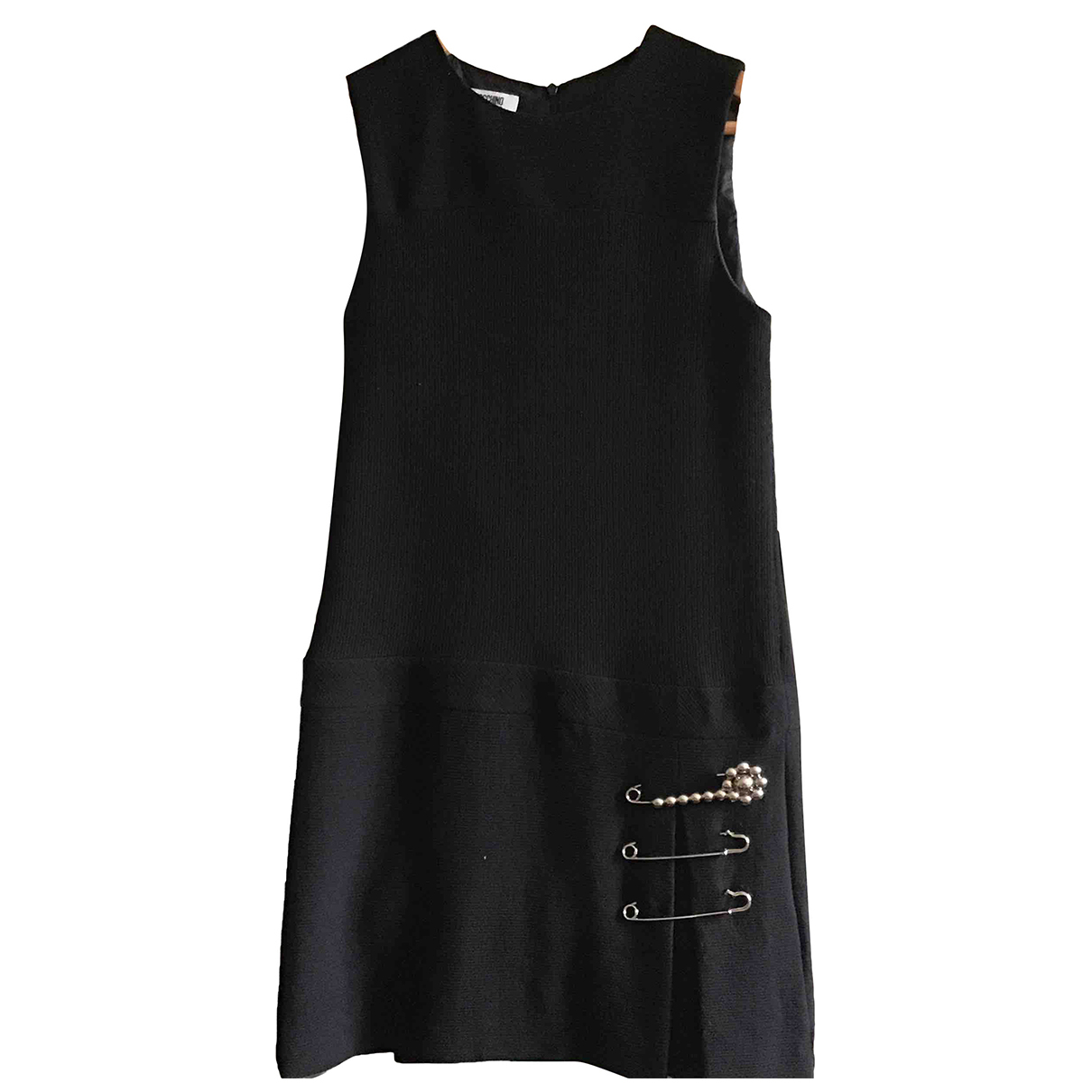 Moschino Cheap And Chic \N Kleid in  Schwarz Wolle