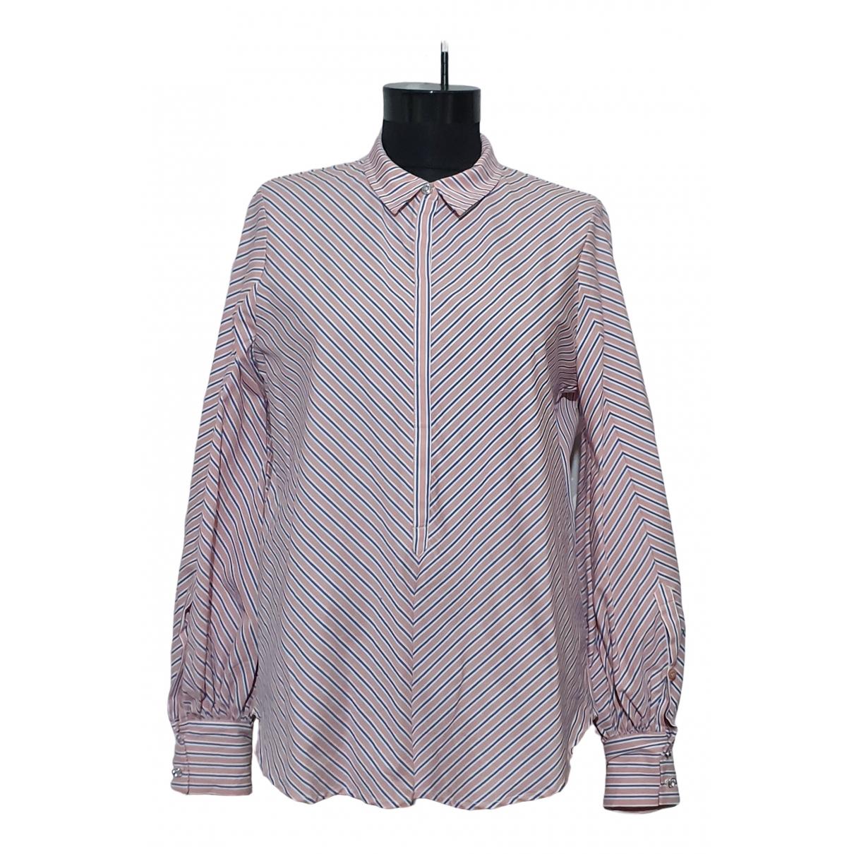 Munthe - Top   pour femme en coton - multicolore