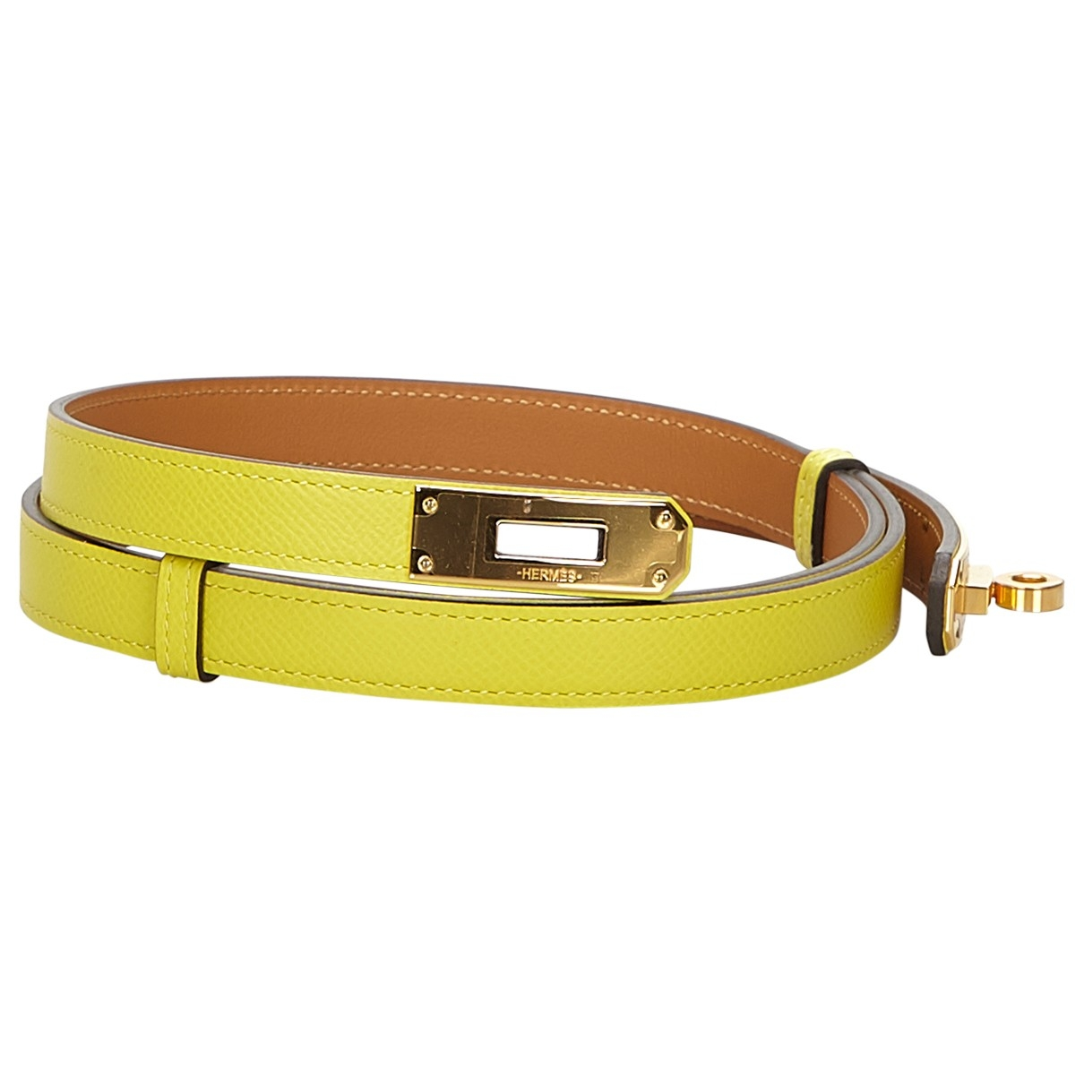 Hermès Kelly Yellow Leather Accessories for Women \N
