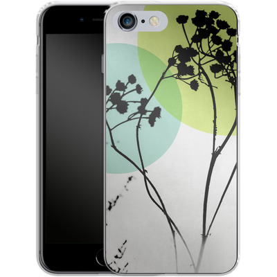 Apple iPhone 6s Plus Silikon Handyhuelle - Abstract Flowers 2 von Mareike Bohmer