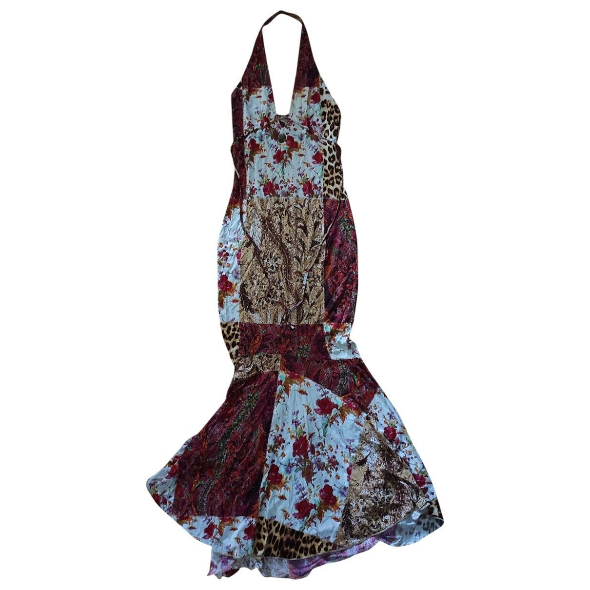 Roberto Cavalli \N Kleid in  Rot Viskose