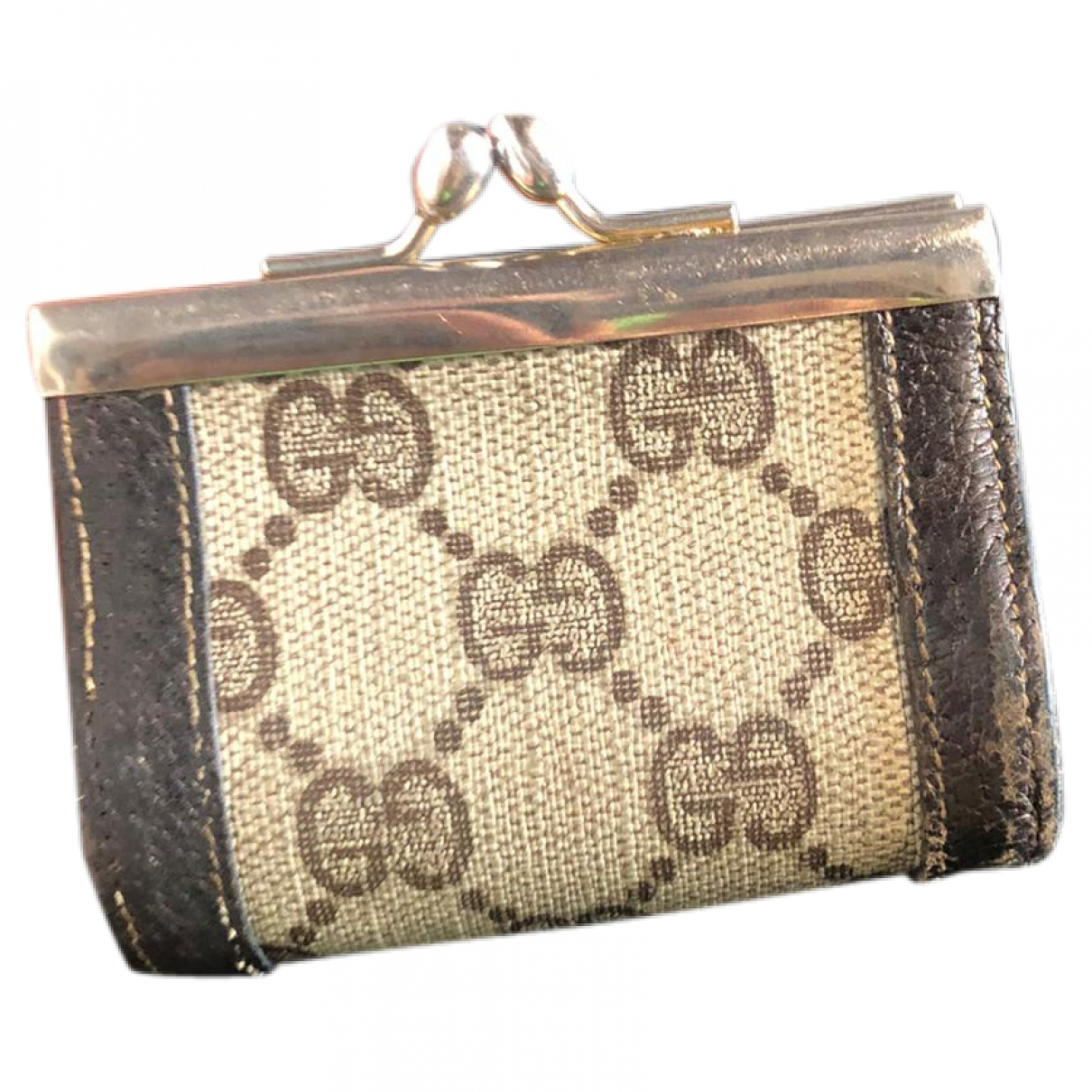 Gucci Ophidia Brown Cloth wallet for Women \N