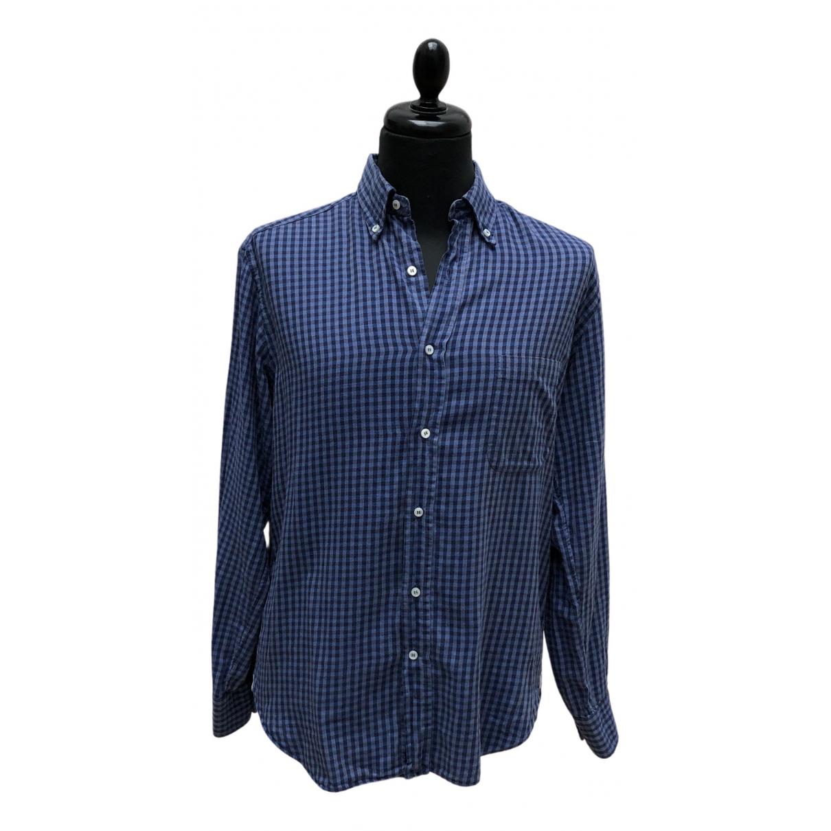 Loro Piana \N Hemden in  Blau Baumwolle