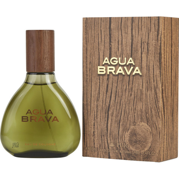 Antonio Puig - Agua Brava : Cologne Spray 3.4 Oz / 100 ml