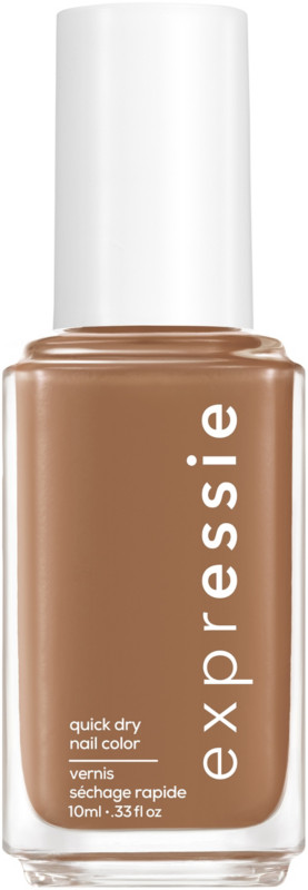 Expressie Quick-Dry Nail Polish - Mid-Day Mocha (cool toned soft brown)