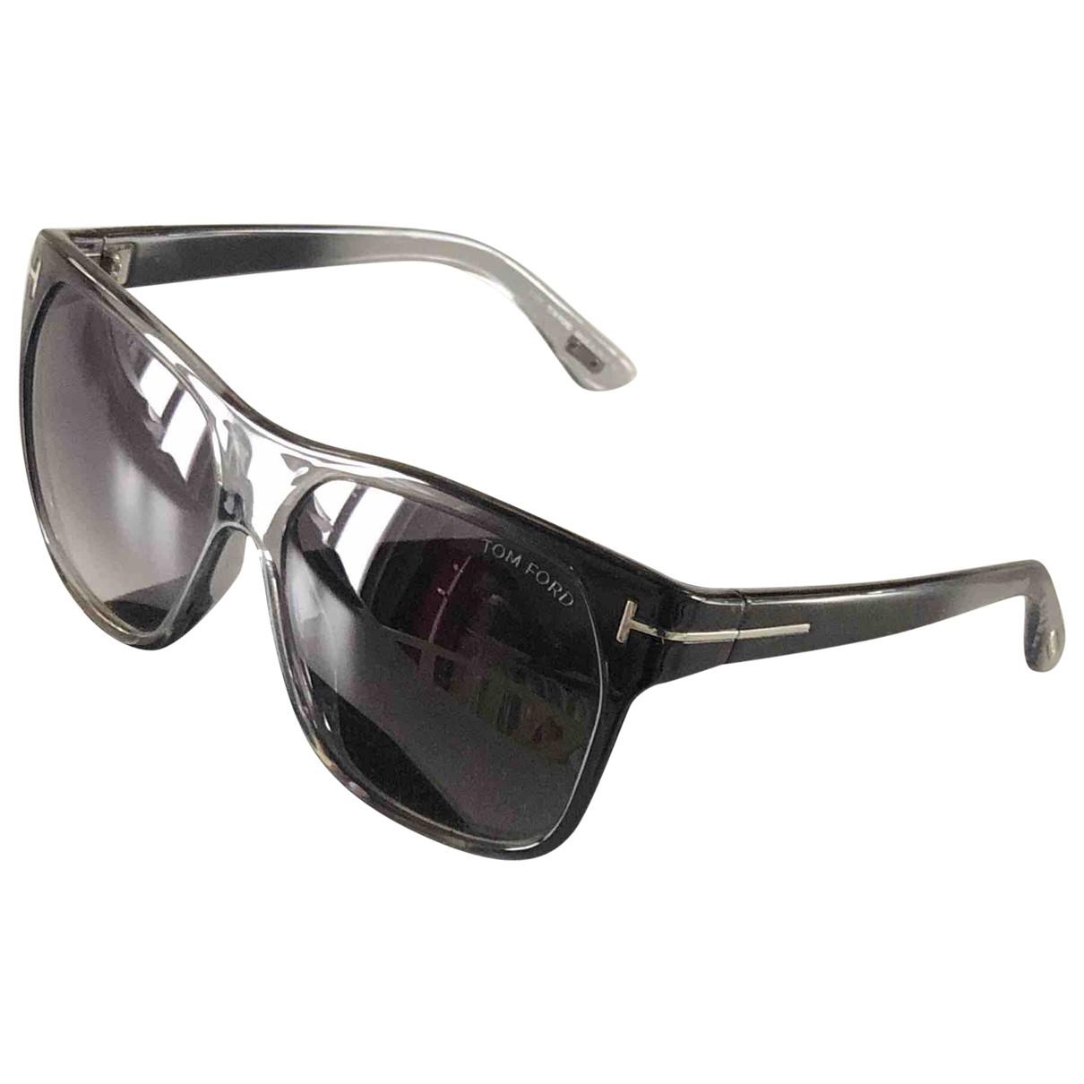 Tom Ford \N Sonnenbrillen in  Grau Kunststoff