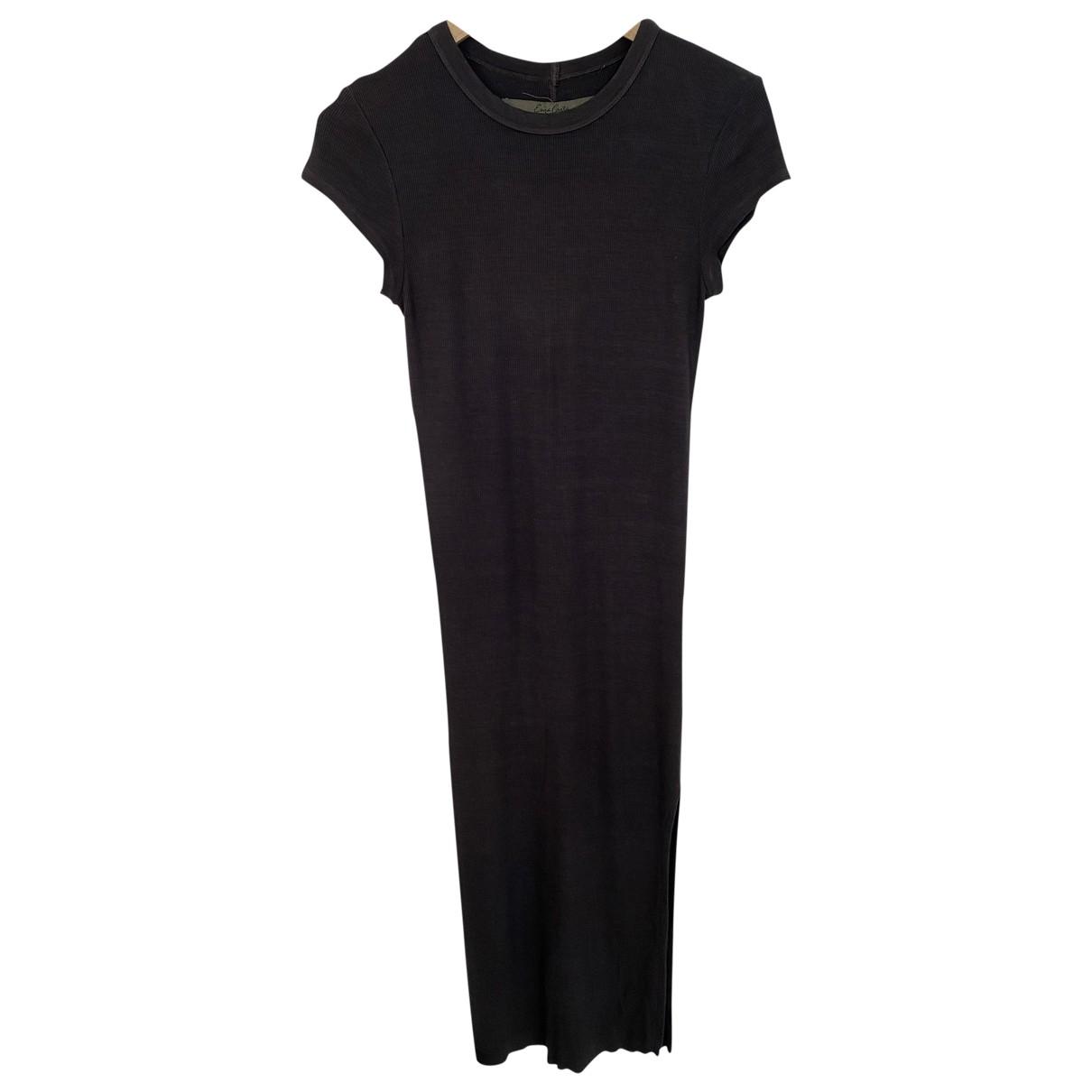 Enza Costa - Robe   pour femme en coton - gris