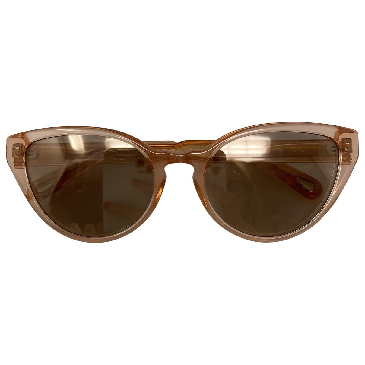 Chloe \N Sonnenbrillen in  Rosa Kunststoff