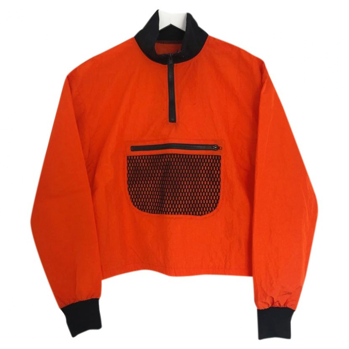 Non Signé / Unsigned \N Orange jacket for Women M International