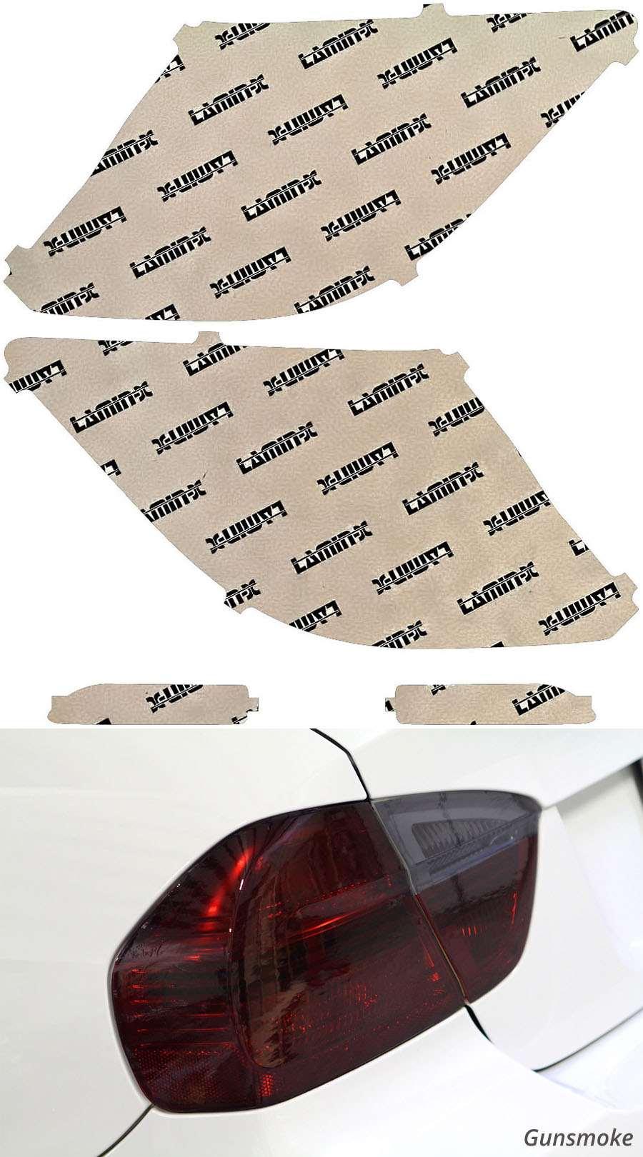 Honda Crosstour 13-15 Gunsmoke Tail Light Covers Lamin-X H254G