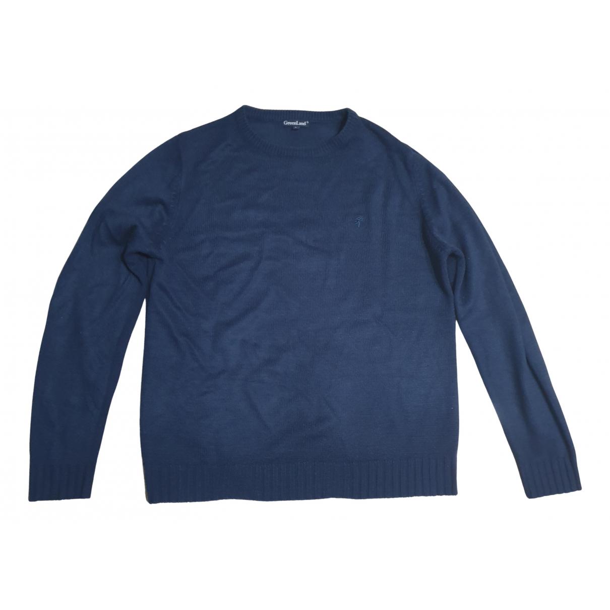 Non Signe / Unsigned \N Pullover.Westen.Sweatshirts  Blau