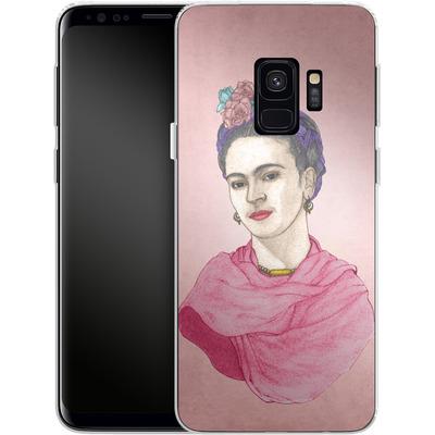 Samsung Galaxy S9 Silikon Handyhuelle - Frida von Barruf