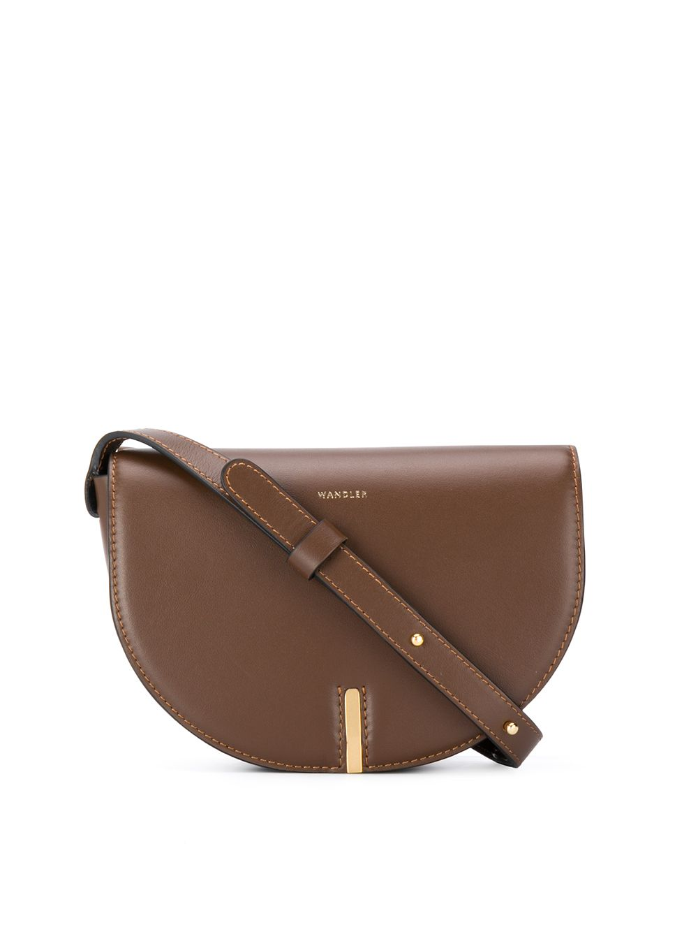 Nana Leather Crossbody Bag