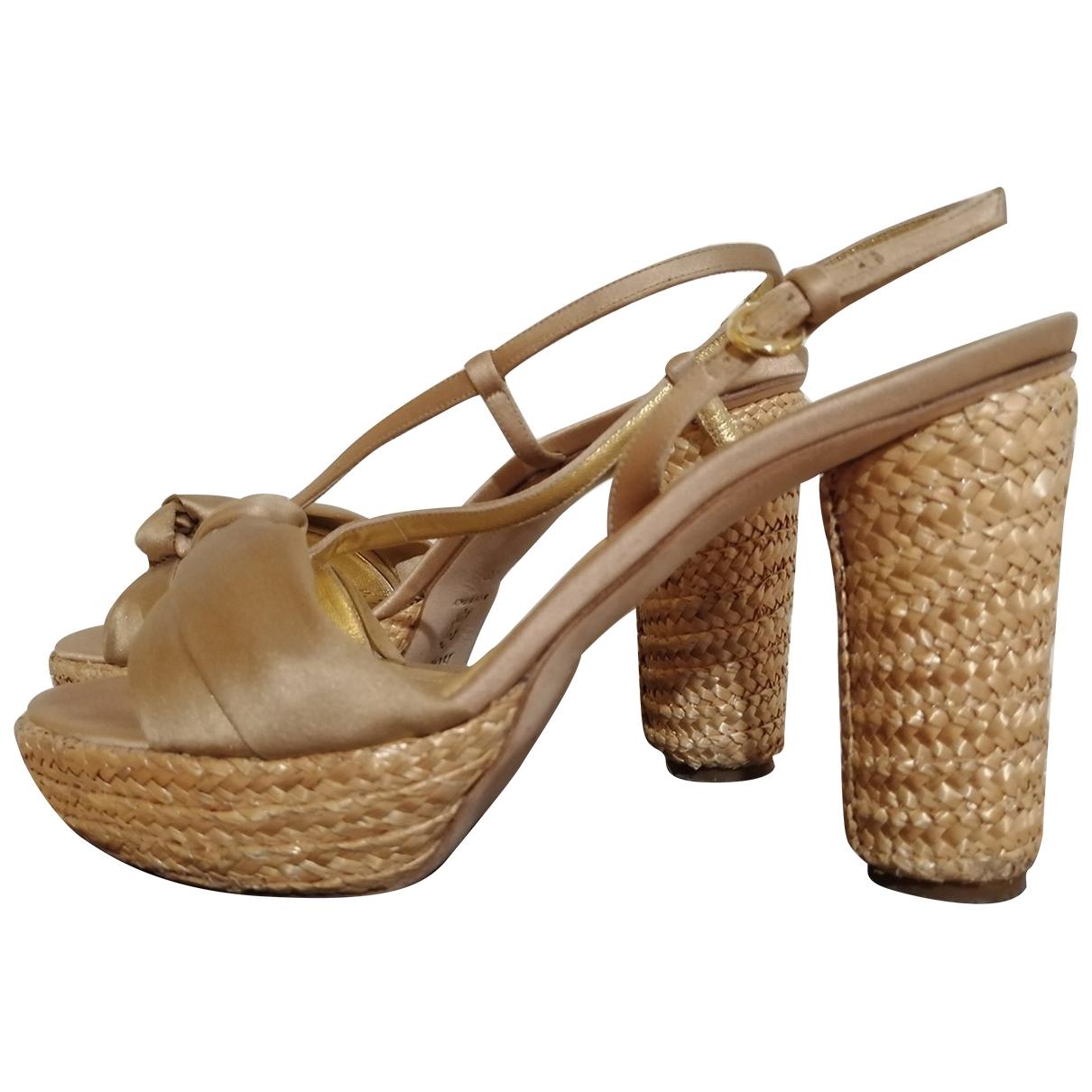 Sandalias de Lona Rodo