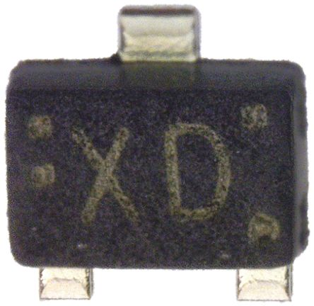 Toshiba 85V 300mA, Dual Silicon Junction Diode, 3-Pin SOT-723 1SS361FV(TPL3,Z) (25)