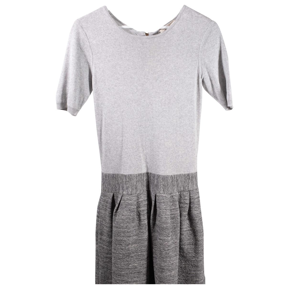 Marie Sixtine \N Kleid in  Grau Baumwolle