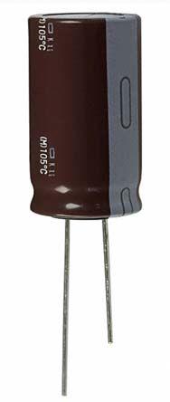 Nippon Chemi-Con 47μF Electrolytic Capacitor 160V dc, Through Hole - EKXG161ELL470MJ20S (200)