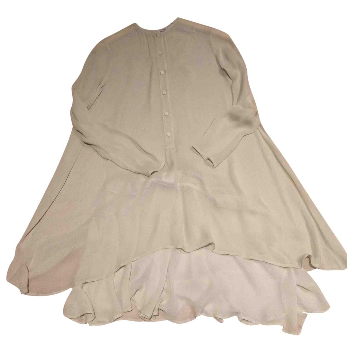 Emporio Armani \N Kleid in  Gruen Viskose