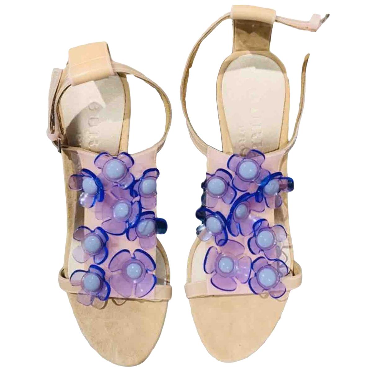 Burberry - Sandales   pour femme - multicolore