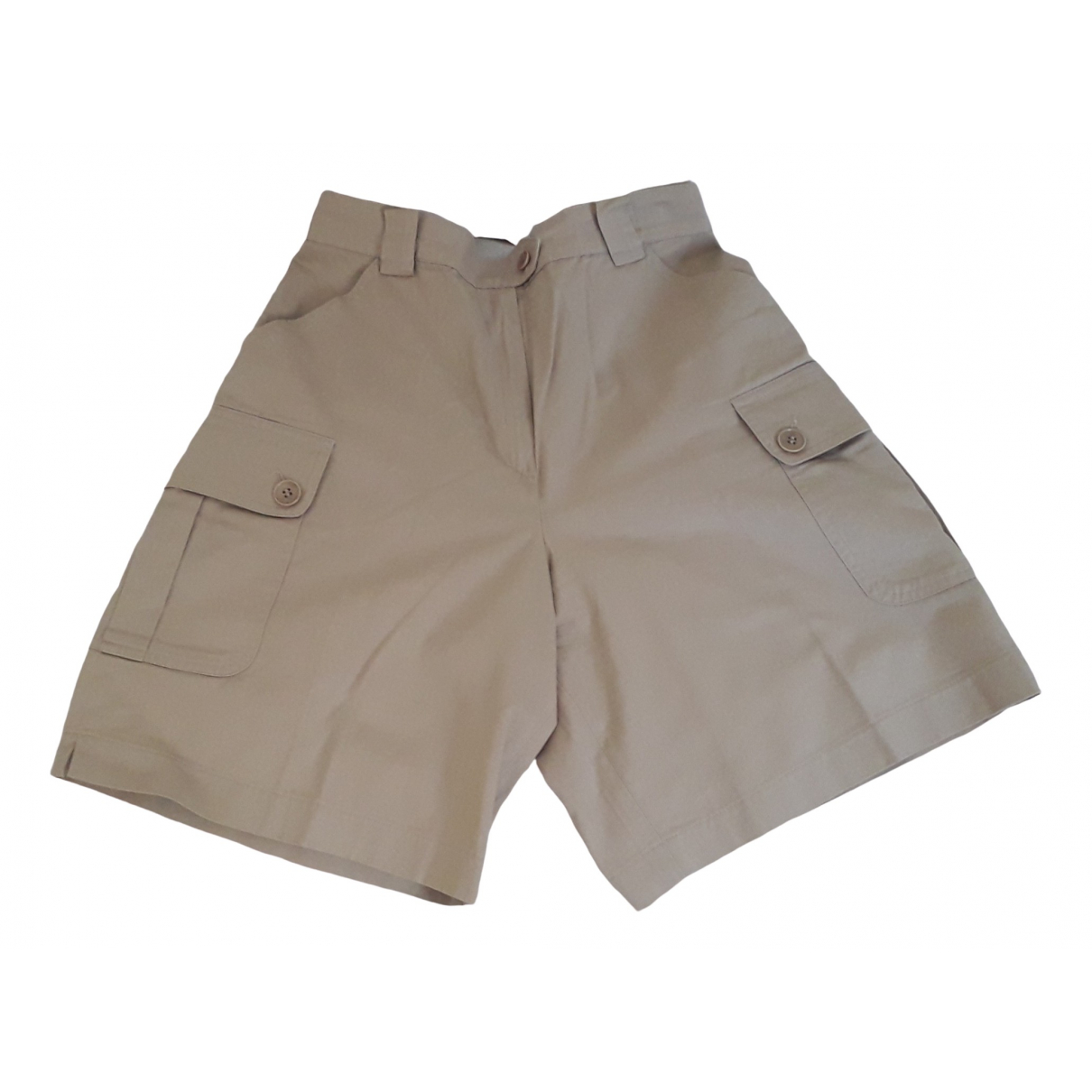 Max Mara Weekend \N Beige Cotton Shorts for Women 42 IT