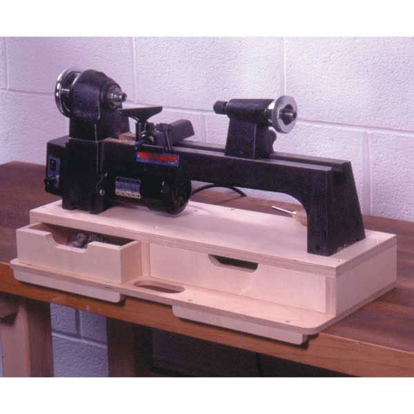 Woodworking Project Paper Plan to Build Portable Mini-Lathe Base