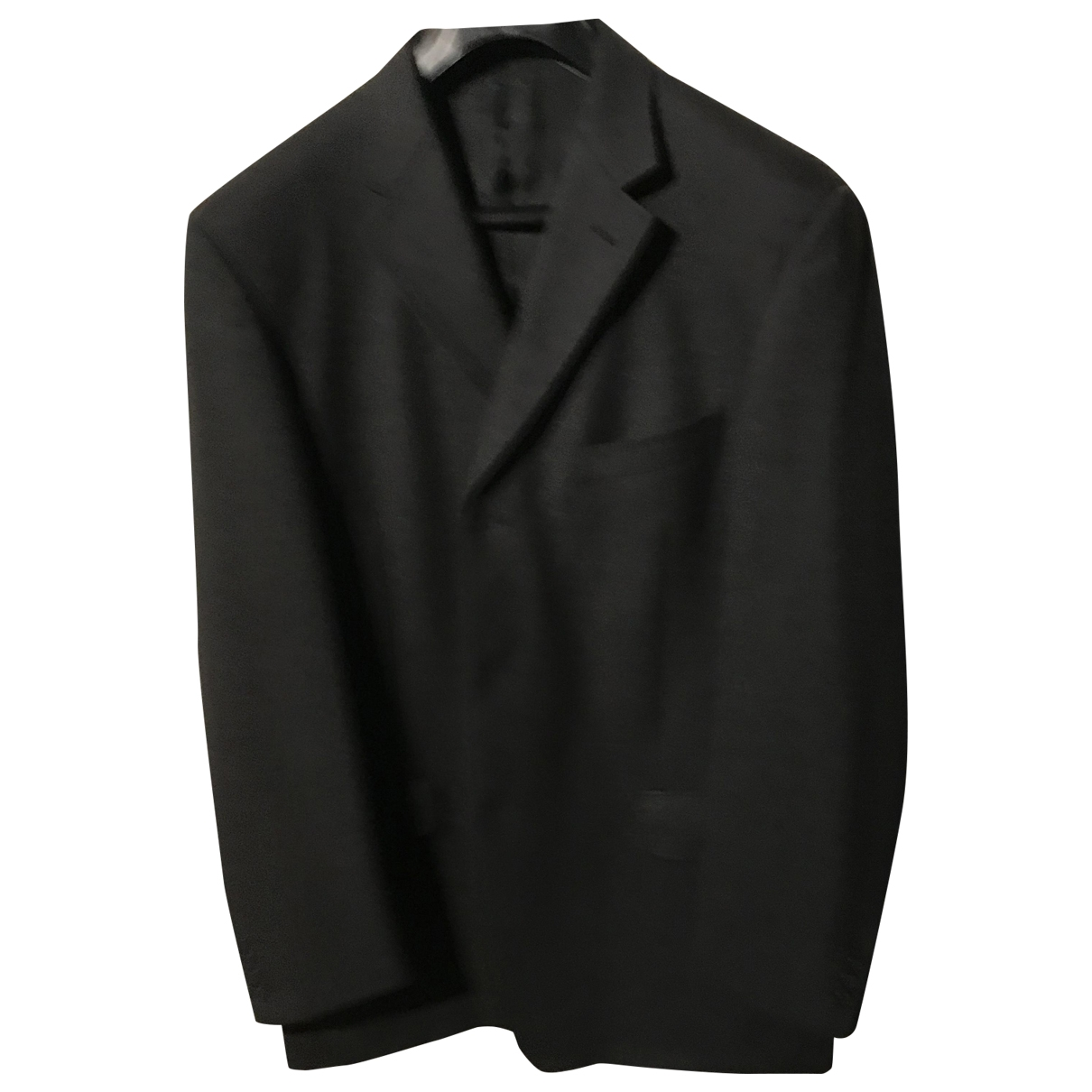 Non Signé / Unsigned \N Anthracite Wool jacket  for Men 54 IT