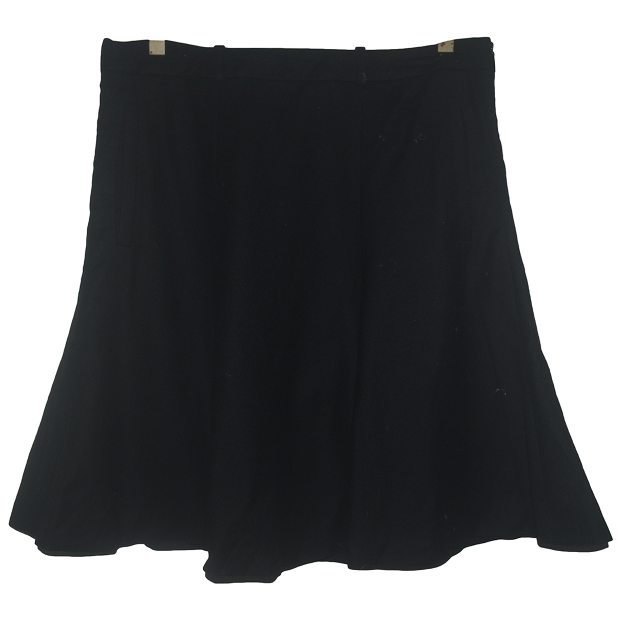 Falda midi de Lana Hugo Boss