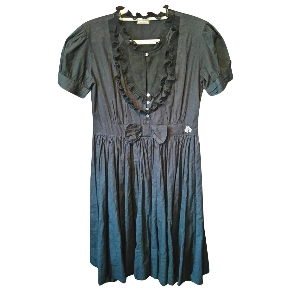 John Galliano - Robe   pour femme en coton - noir