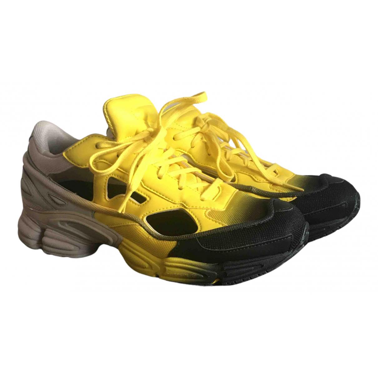 Adidas X Raf Simons Replicant Owzeego Yellow Trainers for Men 40.5 EU