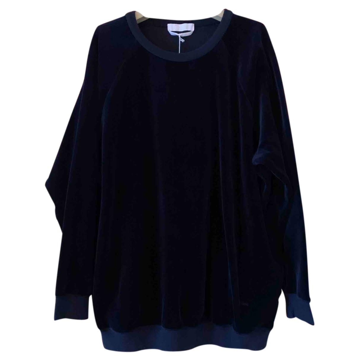 Chloé N Blue Cotton Knitwear for Women M International