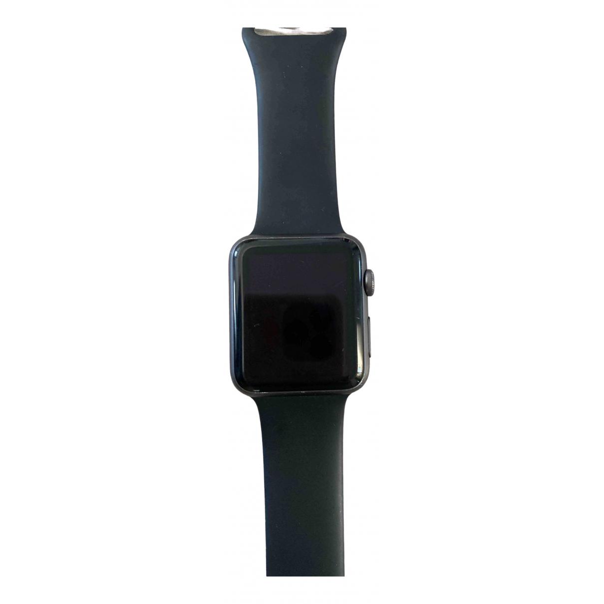 Apple - Montre Apple Watch 42mm pour femme en acier - noir