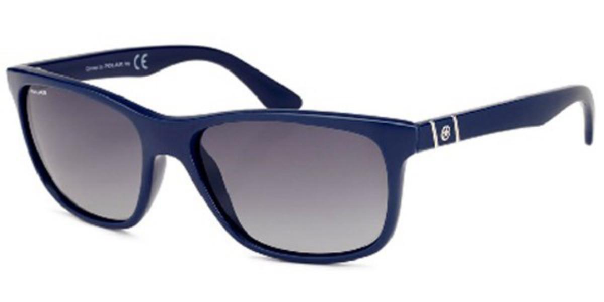 Polar PL 338 Polarized 6 Men's Sunglasses Blue Size 58