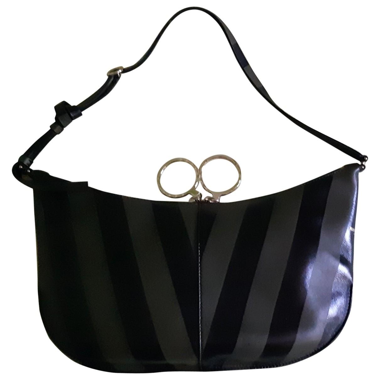 Nina Ricci \N Handtasche in  Khaki Leder