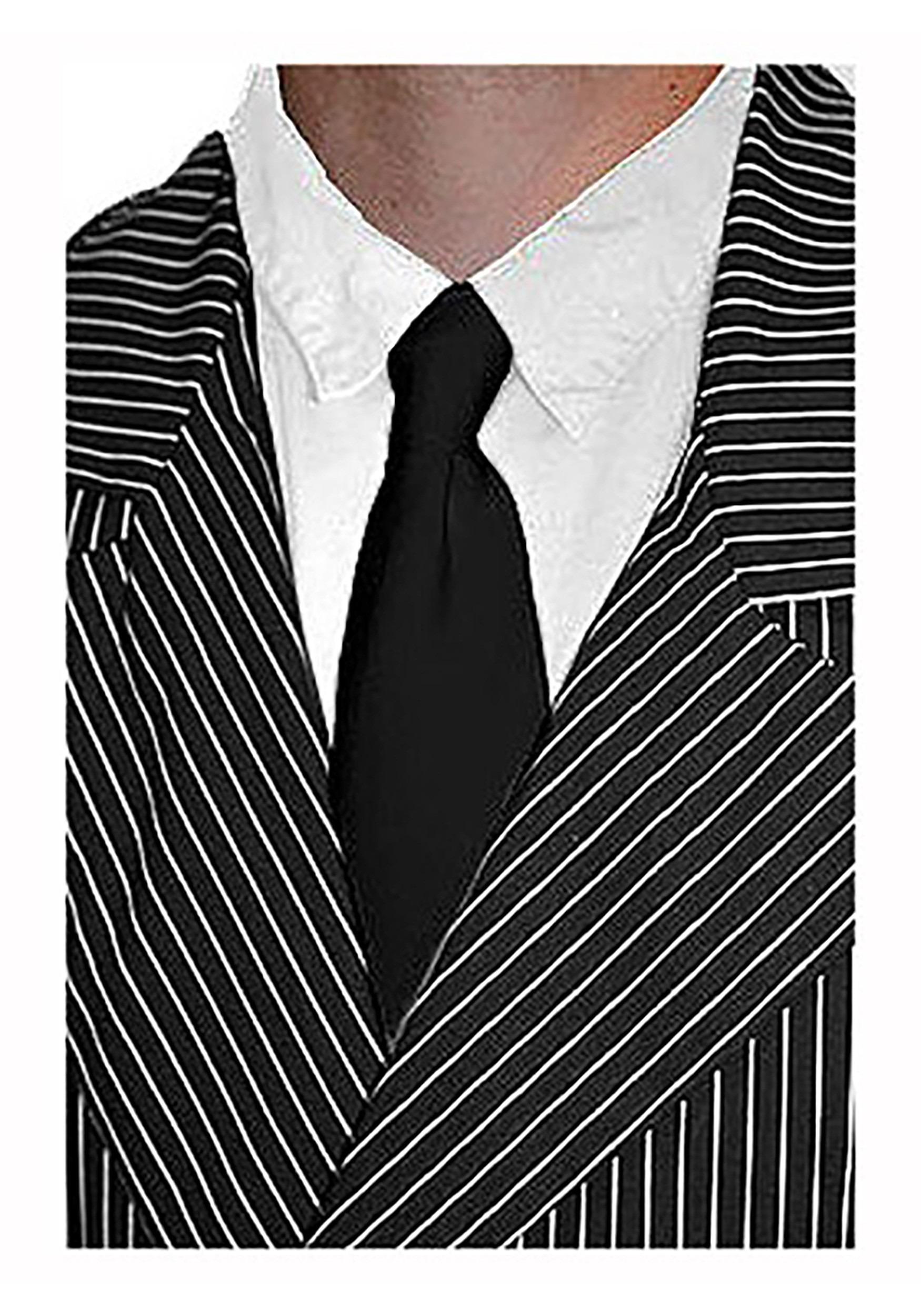 Men's Black Gangster Tie