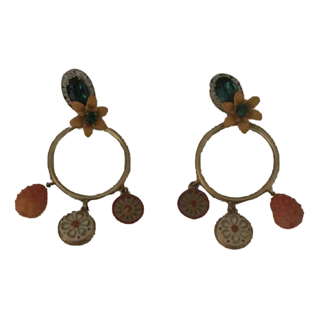 Dolce & Gabbana - Boucles doreilles   pour femme en metal - multicolore
