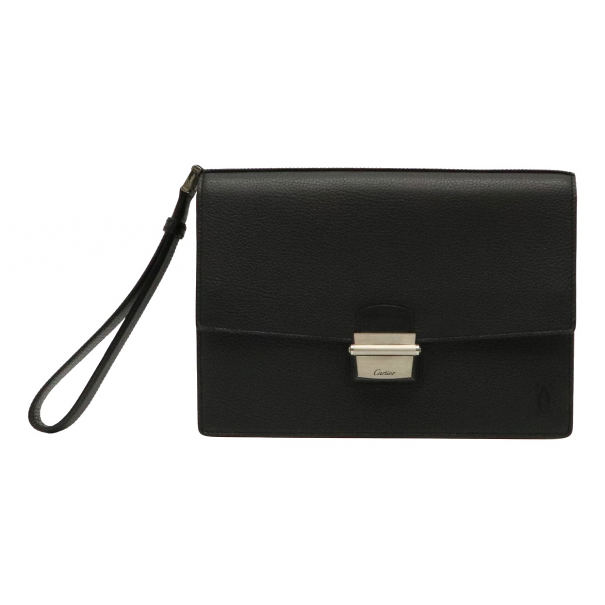 Cartier \N Black Leather Clutch bag for Women \N