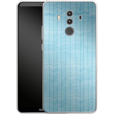 Huawei Mate 10 Pro Silikon Handyhuelle - Fishbone von caseable Designs