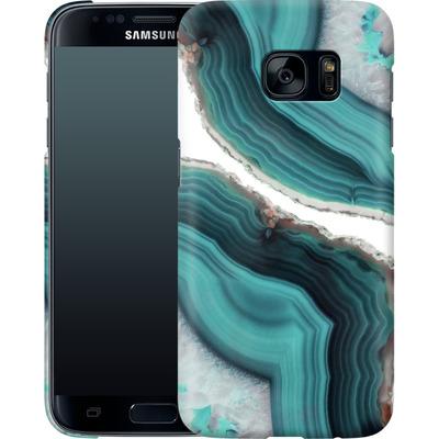 Samsung Galaxy S7 Smartphone Huelle - Sea Agate von Emanuela Carratoni