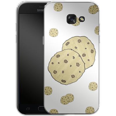 Samsung Galaxy A5 (2017) Silikon Handyhuelle - Cookies von caseable Designs