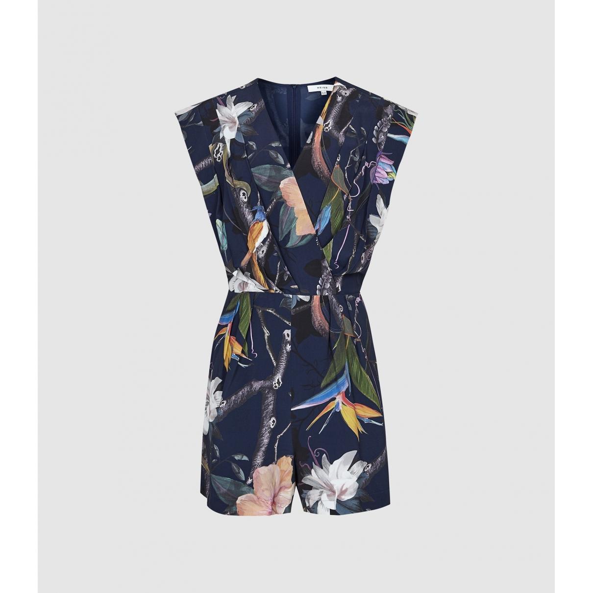 Reiss \N Navy jumpsuit for Women 6 UK