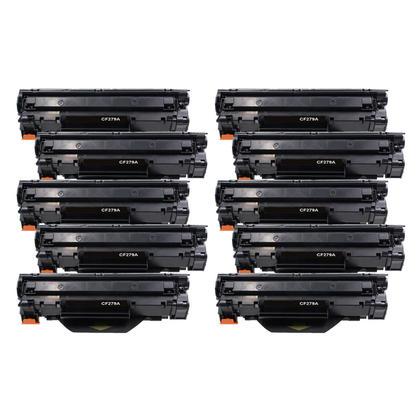 Compatible HP 79A CF279A cartouche de toner noire - boite economique - 10/paquet