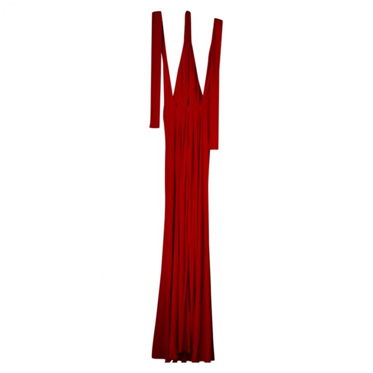 Issa \N Kleid in  Rot Seide