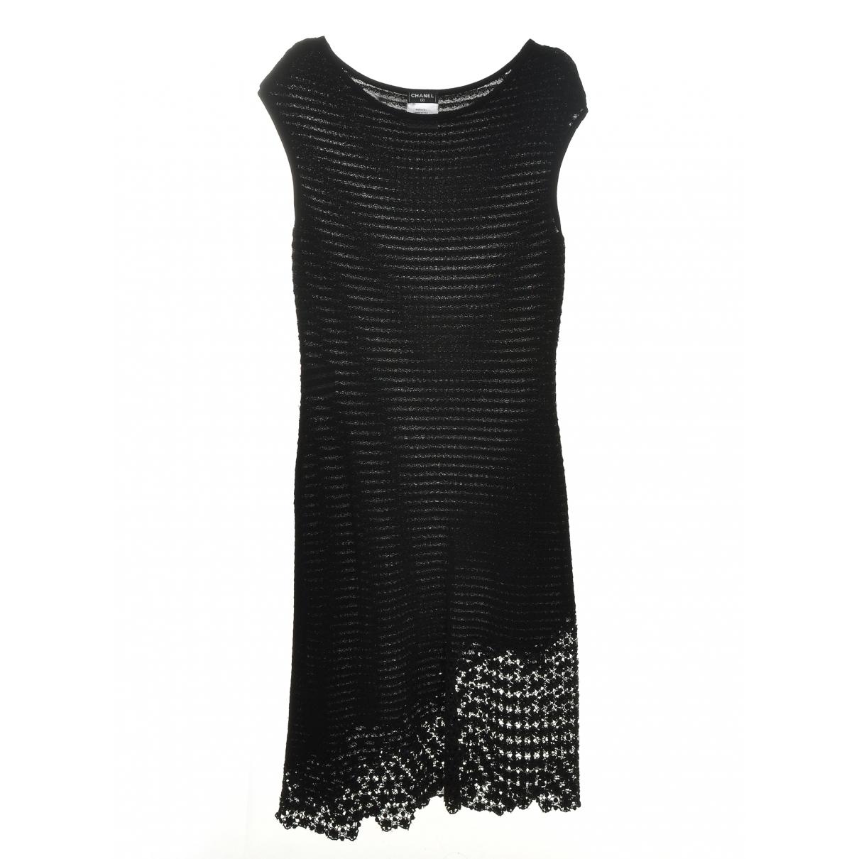 Vestido midi de Encaje Chanel