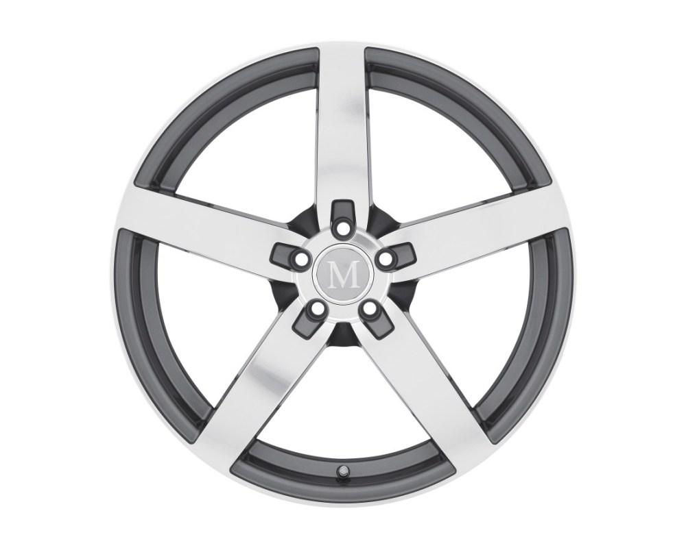 Mandrus Arrow Wheel 17x8 5x112 42mm Gunmetal w/ Mirror Cut Face