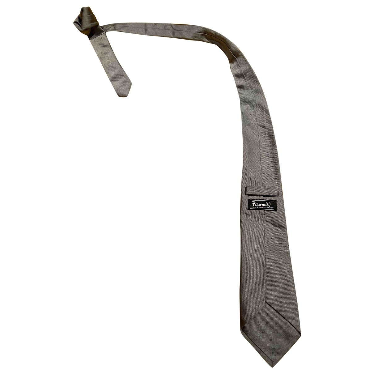 Non Signé / Unsigned \N Silver Ties for Men \N